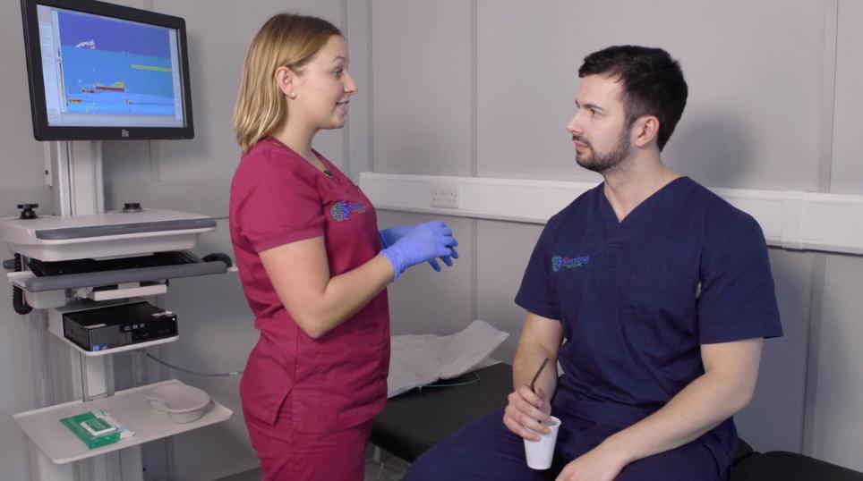 Intubation demonstration