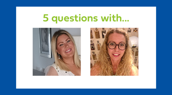 5 Questions with Lucy and Caroline